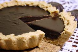 Шоколадный тарт - выпечка