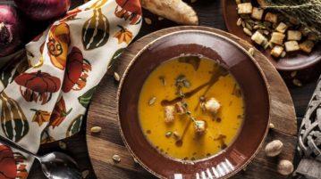 Самое осеннее блюдо: 5 восхитительных крем-супов от лучших шеф-поваров