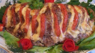 Сочная свинина в духовке - Вторые блюда