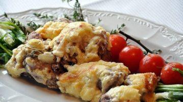 Мясо по-французски с картофелем - Вторые блюда