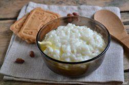 Каша рисовая молочная - Вторые блюда