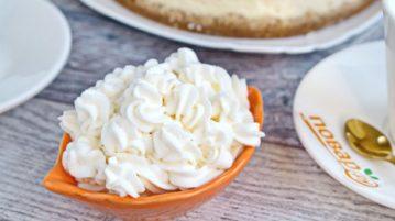 Быстрые домашние взбитые сливки - десерты