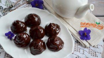 Зефир в шоколаде - десерты