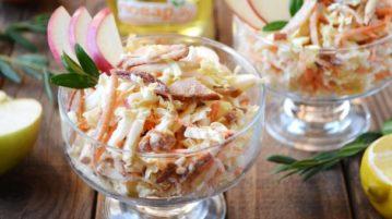 Легкий зимний салат - салаты