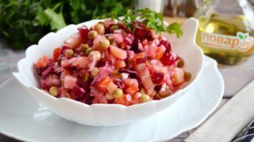 Овощной винегрет - салаты