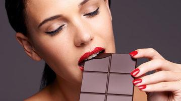 Шоколадная диета для плоского живота