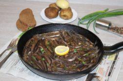 Шкара из мойвы - Вторые блюда