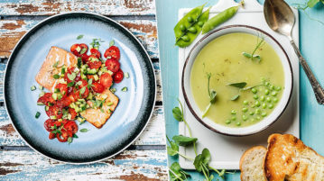 9 простых рецептов блюд для тех, кто решил питаться правильно