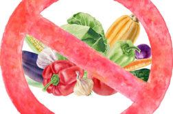 Овощи под запретом: основные принципы парадоксальной диеты
