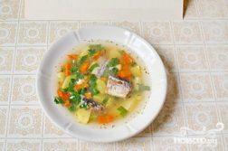 Рыбный суп из консервов - супы на первое