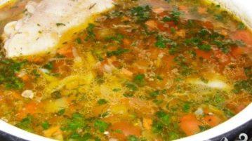 Щи куриные - супы на первое