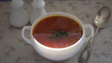 Борщ классический - супы на первое