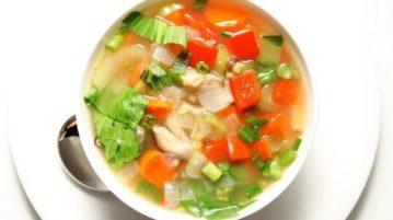 Суп для похудения - супы на первое