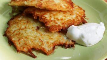 Вкусные картофельные драники - Вторые блюда