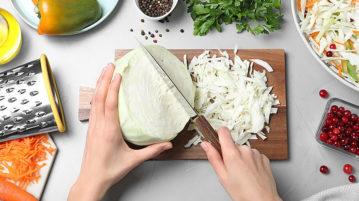 Простые диетические рецепты из капусты - хрустим и худеем!