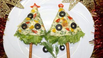 "Новогодняя закуска ""Ёлка"" - закуски"