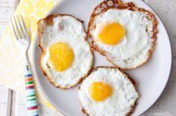 Яичница обычная - закуски