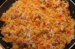 Плов быстрого приготовления с курицей - Вторые блюда